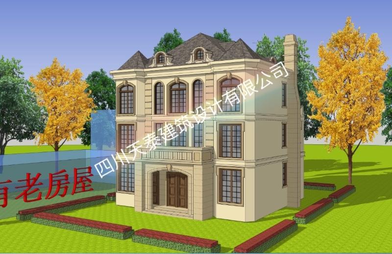 南充顺庆自建房 别墅 小洋房 乡镇房屋 景观设计及施工