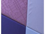 【厂家直销】家居装饰皮革 空气能软墙皮革 负离子pu皮软包皮革