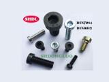 上海东螺DIN7984现货8.8级薄头内六角发黑镀锌