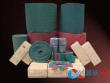 h昌信磨具供应 红色 灰色绿色百洁布  工业百洁布 尼龙片