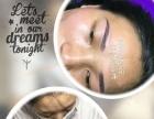 深圳出名的化妆盘发美甲纹绣眉眼唇培训包实操工作