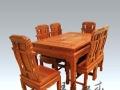 缅甸花梨餐桌细节图 手工制作 价格合适 值得拥有