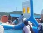 水上闯关设备租赁夏日炎炎水上乐园去游玩