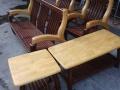 九成新一套五件套实木沙发低价出售