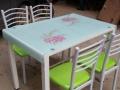 大学生创业,宜家简约餐桌餐椅组合吃饭桌子,桌子260,椅子4