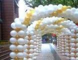 北京亲子活动现场气球布置,气球派对,宝宝宴气球