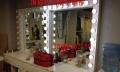 特价专业影楼化妆间化妆台带灯 造型美容学校化妆镜