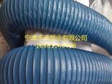 山东丰运环保设备排烟管净化器风管蓝色风管