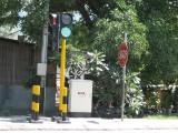 感应式交通信号控制机