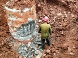 广州专业破桩头队伍,支撑梁绳锯切割,混凝土破碎拆除厂房