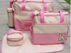 厂家直销定做时尚多功能妈咪包 5件套装 斜跨 待产包妈妈包妈咪袋
