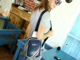时尚女包2014夏新款韩版休闲小包单肩斜挎胸包潮牛仔布男女式包