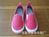 外贸儿童帆布鞋 秋季新款 学生鞋软底宝宝鞋单鞋 厂家直销批发