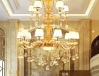 成都灯具批发市场 现代水晶吊灯 美式大吊灯