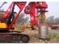 柳州市桂林市中联旋挖桩机基础公司专业低价格承接桩基础施工工程