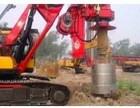 防城市北海市全新三一280旋挖钻机出租公司承接旋挖桩工程