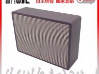 专门研发皮质皮革音箱的生产制造厂家宝俊成音箱厂