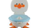 婴儿坐便器 宝宝卡通小鸭子坐便凳马桶便盆抽屉式 厂家直销