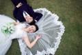 诺曼地婚纱摄影热情欢笑服务好每对新人