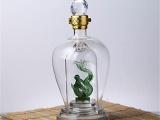 沧州永鑫工艺玻璃白酒瓶订制异形酒瓶厂家