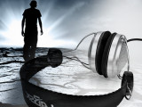声美耳机批发 带麦电脑耳机 高档金属浮雕设计 耐用耳壳调音量