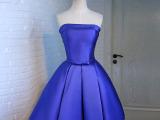 晚礼服2015新款短款宴会小礼服时尚年会晚装春夏主持人礼服伴娘服