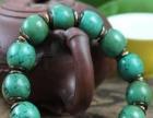 无优化天然高瓷原矿绿松石手链,成品,价不高