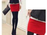 特价秋季新款半身裙包臀裙打底裙毛呢半身裙低腰包臀修身短裙包裙