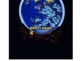 花开富贵蓝地粉彩盘 有望在瓷器史上树立价值标杆