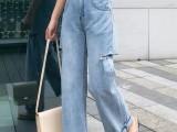 广州牛仔裤批发市场特价尾货牛仔裤工厂清仓处理