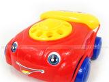 批发零售宝宝拉线学步电话车早教玩具