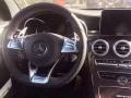 奔驰C级2016款C200L改装原厂AMG翻毛皮大拨片方向盘