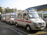 无锡病人转院救护车租用急救设备齐全,配备医护