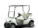 潮流新款 48v 两座电动高尔夫球车 带球筐 球包架电动观光车