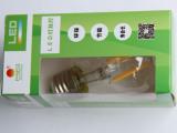 厂家直销 新款LED球泡LED普通灯泡 LED钨丝灯泡仿古普通灯