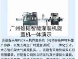 全自动食用油灌装机生产线