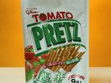 日本格力高百力滋PRETZ饼干棒134g番茄野菜味进口食品休闲零