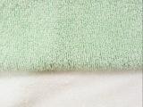 双面竹纤维毛巾布经编 浴巾口水巾婴儿针织