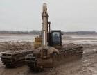本溪市恒仁供应沼泽地挖掘机湿地挖机租赁服务贴心