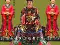 河南云峰佛像厂家批发 泰山奶奶像3米碧霞元君十二老母神像订做