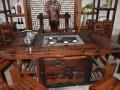 批发供应老船木茶桌椅组合实木茶桌家具中式功夫茶几泡茶台