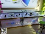 新款华为3.0手机柜台 华为荣耀展示柜 小米前开门手机展柜