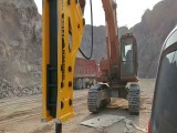175大型液压破碎锤矿山锐猛挖掘机锤式破碎机水山