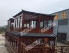 兴泓木船制造双层画舫餐饮船