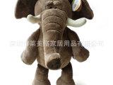 玩具厂 定做大象毛绒玩具 出口大象毛绒公仔 站立大象玩偶娃娃