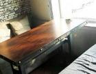 双人卡座(可拆洗布艺沙发*2+双人桌子),共3套