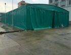 长沙中顺夜市大型排档雨棚移动伸缩雨篷超市烧烤遮阳蓬推拉帐篷