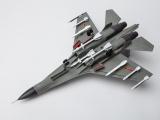 战斗机合金军事模型 静态苏-30合金飞机模型直销定制