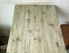 绿色纯木制小方桌