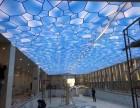 唐山透光膜厂家 保定卡布灯箱膜透光膜 焦作室内张拉膜吊顶